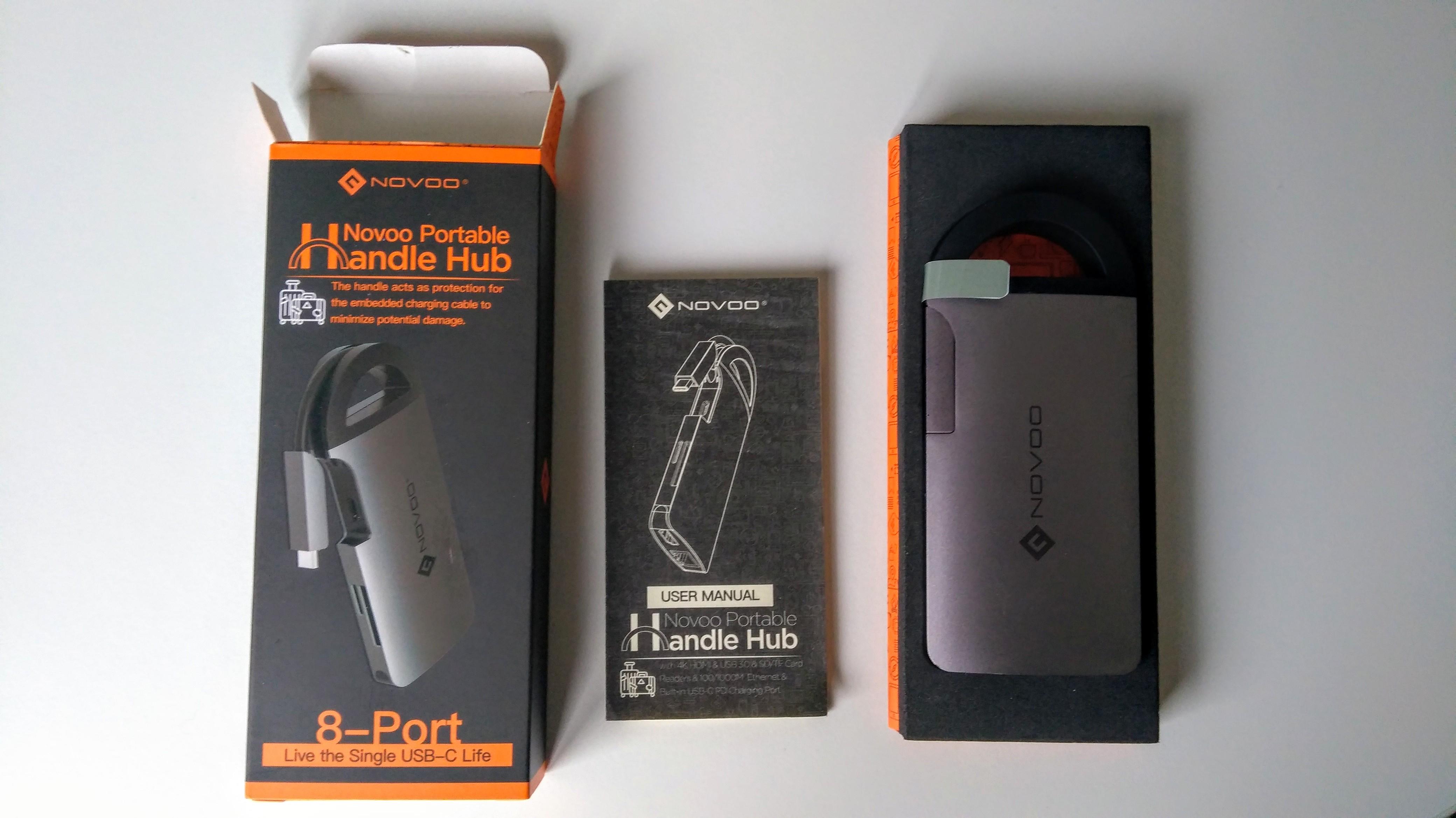 NOVOO USB C Hub 006