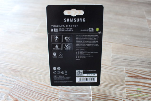 Samsung Evo SD Card 02