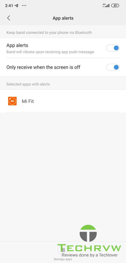 Xiaomi Mi Band 4 Software 0010