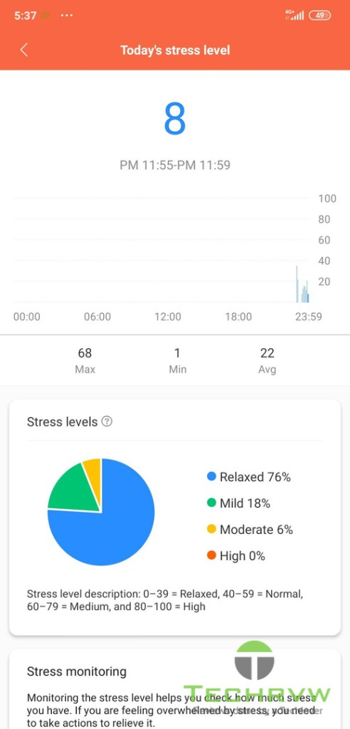 Xiaomi Mi Band 5 Software 0017