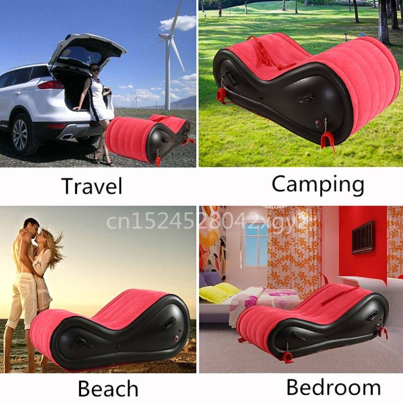 Inflatable Sofa Bed With Electric air pump