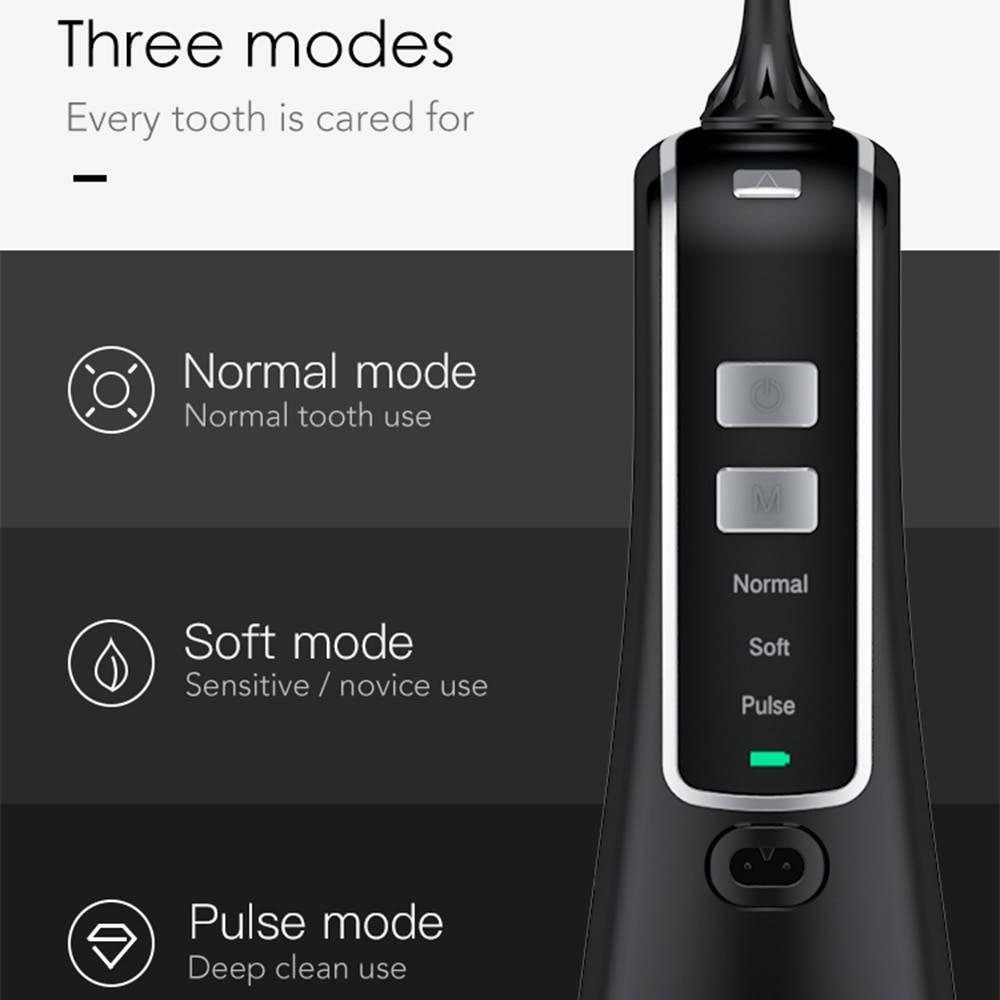 Nicefeel Dental flosser 3 Modes Cordless Oral Irrigator خيط الاسنان المائي نايس فيل 3 سرعات Water Flosser - خيط الأسنان المائي Smart Techs, Better Living