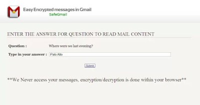 safe-gmail-question
