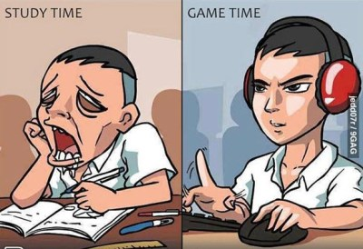 studying-vs-gaming