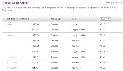 yahoo-recent-login-activity