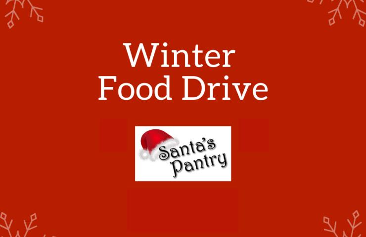 Winter Food Drive: Santa's Pantry