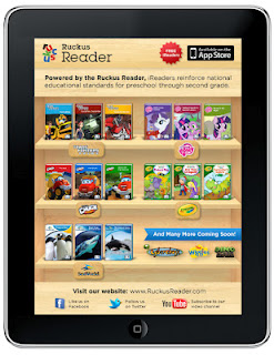 Ruckus Reader: Interactive Content Provides Real Time Child Progress Reports (w. iPad giveaway)