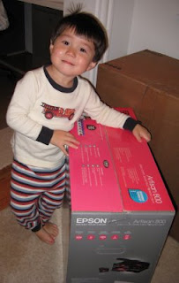 Epson Artisan 800- Easy to Use! Even for a 2 Year Old!
