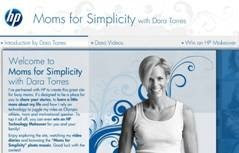 HP and Dara Torres Inspire Moms for Simplicity