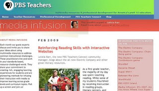 Reinforcing Reading Skills with Interactive Websites