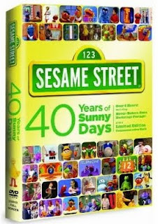 Sesame Street: 40 Years of Sunny Days DVD Review