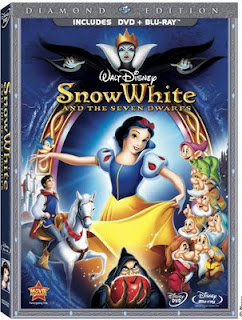 Snow White Diamond Edition Blu-ray & DVD Combo Pack (& giveaway)