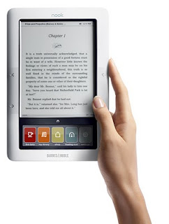Barnes & Noble nook Review and Giveaway