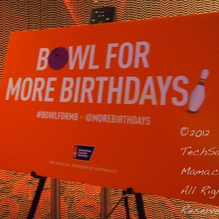 Bowling for More Birthdays at Blogalicious to Celebrate Life
