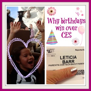 Why Celebrating a 9th Birthday Wins Over Attending CES