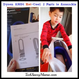 Dyson AM04 Hot+Cool Easy Assembly1 TechSavvyMama.com