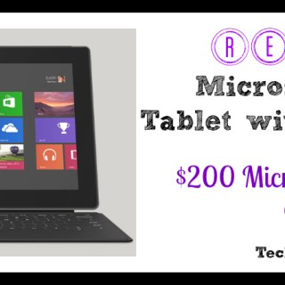 Microsoft Surface with Windows RT Review and Giveaway