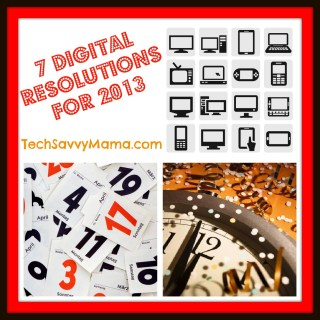 7 Digital Resolutions to Make in 2013