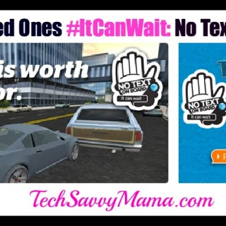 Teaching Loved Ones #ItCanWait: No Texting and Driving (w. giveaway)