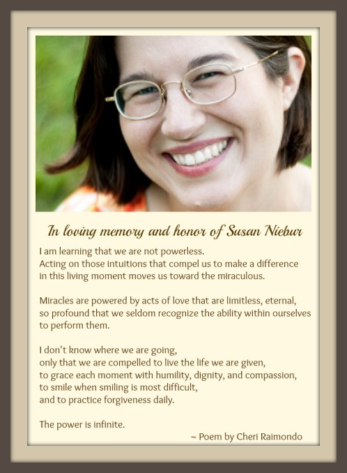 In Honor of Susan