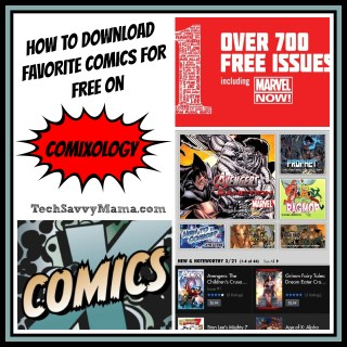 Download Favorite Comics for Free on comiXology.com