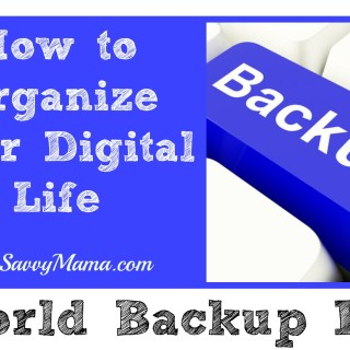 World Backup Day: Organize Your Digital Life (w. Carbonite giveaway)