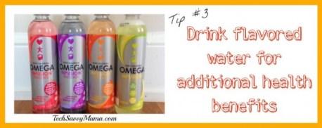 Drink flavored water TechSavvyMama