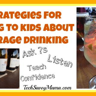 5 Strategies for Talking to Kids About Underage Drinking