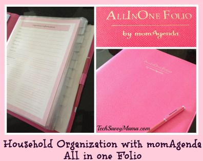 momAgenda All in One Folio TechSavvyMama.com