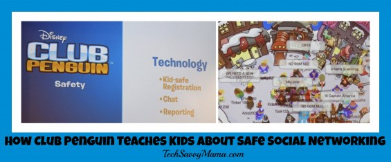 How Club Penguin Teaches Kids About Safe Social Networking TechSavvyMama.com