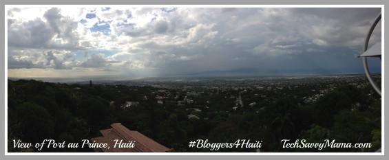 View of Port au Prince Haiti #Bloggers4Haiti