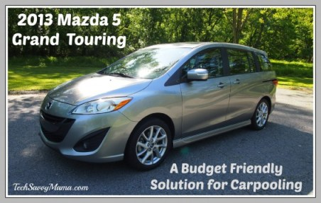 2013 Mazda 5 Grand Touring TechSavvyMama.com
