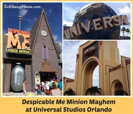 Despicable Me Minion Mayhem at Universal Studios Orlando