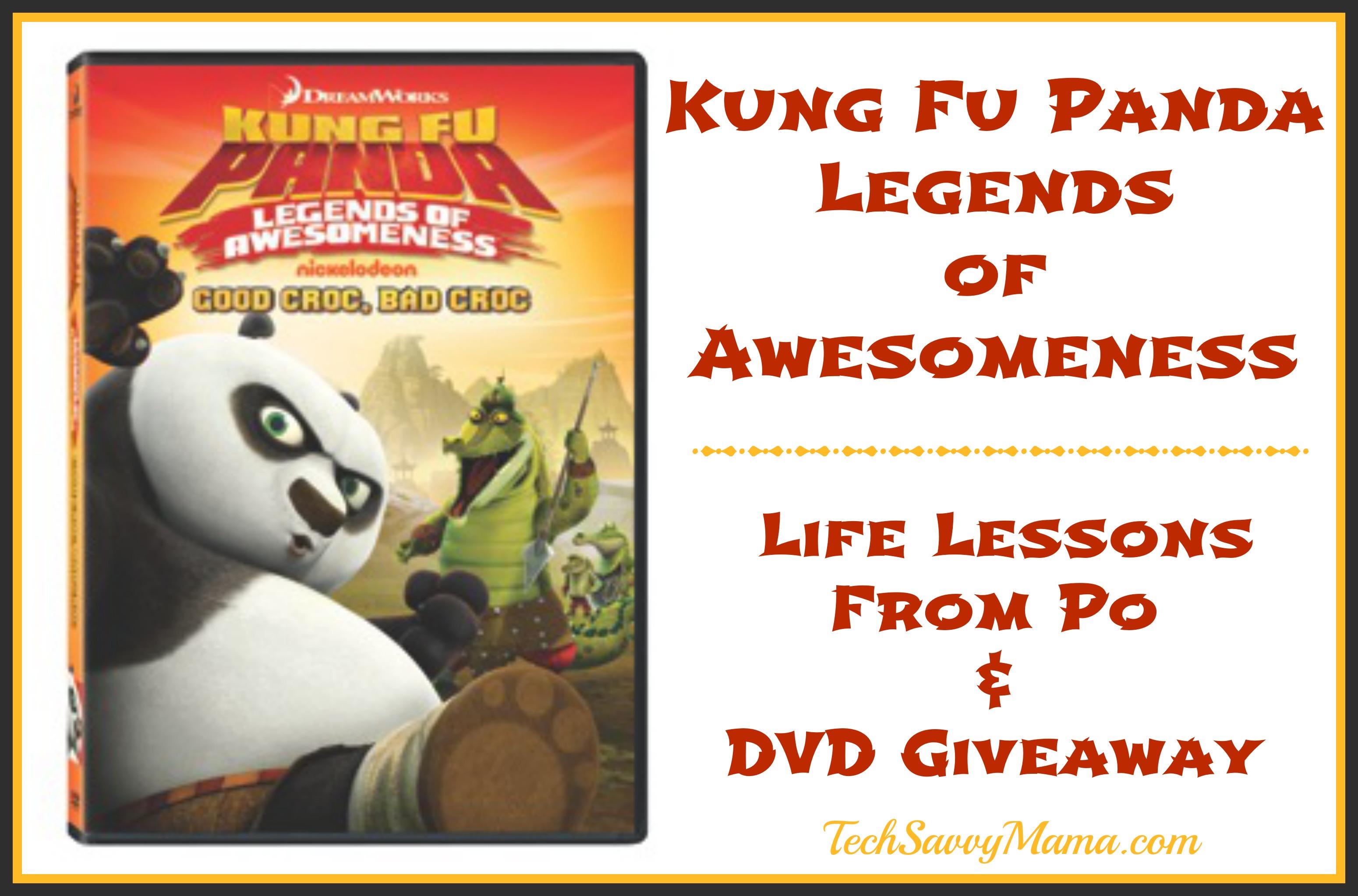 Childrens DVD Review: Kung Fu Panda: Legends of