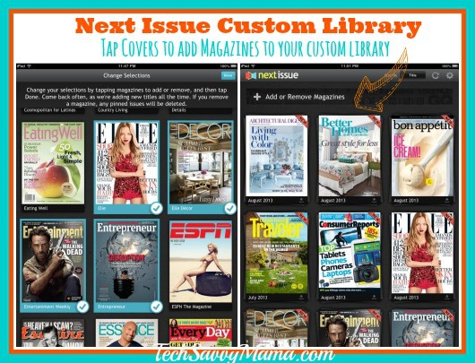 Next Issue Custom Library