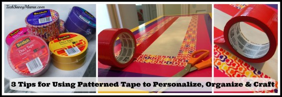 3 Tips for Using Patterned Tape