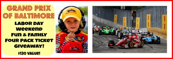 Grand Prix of Baltimore Ticket Giveaway