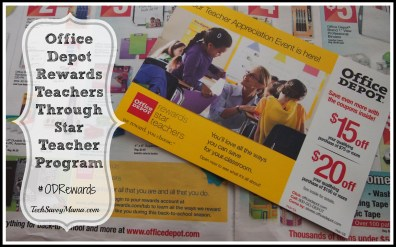 Office Depot Star Teacher Rewards