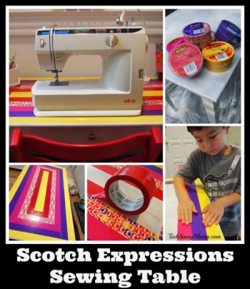 #ScotchExpressions Sewing Table