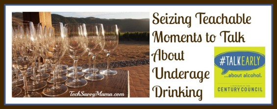 Seizing Teachable Moments to Talk About Underage Drinking