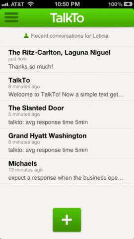 TalkTo Conversations