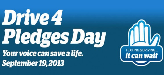 #ItCanWait Drive 4 Pledges Day