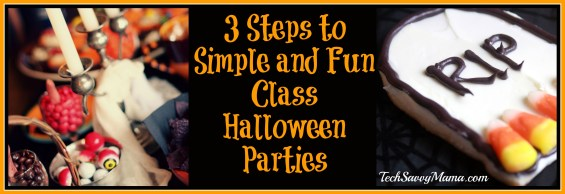 3 Steps to Simple and Fun Class Halloween Parties