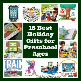 15 Best Holiday Gifts for Preschoolers