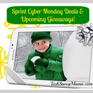 Cyber Monday Deals From Sprint & Upcoming Giveaways!