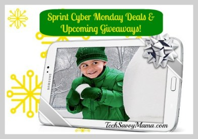 Sprint Cyber Monday Deals & Upcoming Giveaways