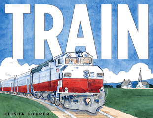 Train by Elisha Cooper