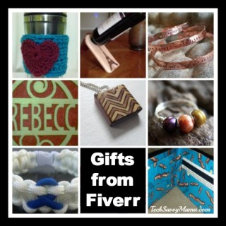 Get Great Gifts from Fiverr Starting at $5 {sponsored}