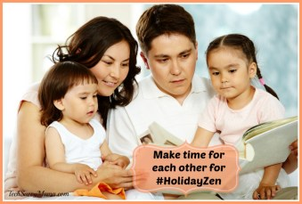 Make time for each other #HolidayZen