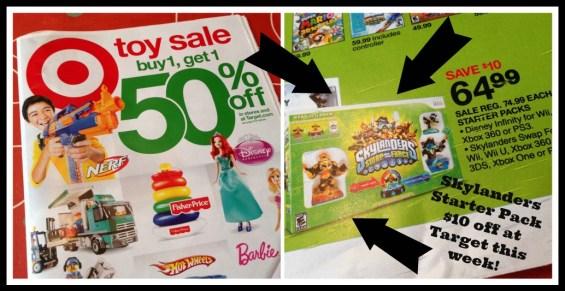 Skylanders on sale at Target this week